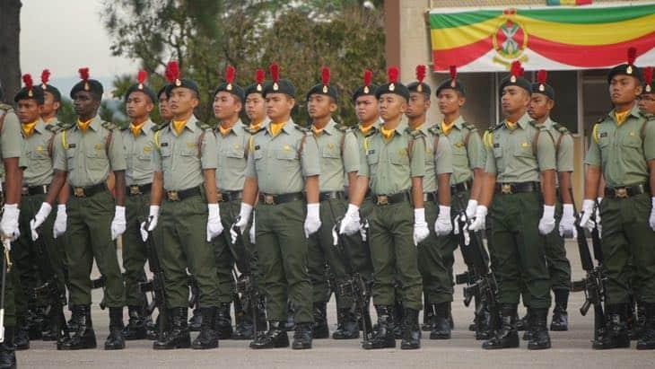 permohonan maktab tentera diraja