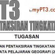Tajuk Kerja Kursus Geografi Pt3