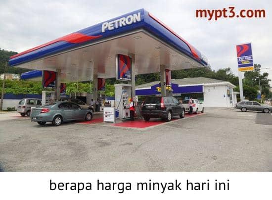 harga minyak terkini
