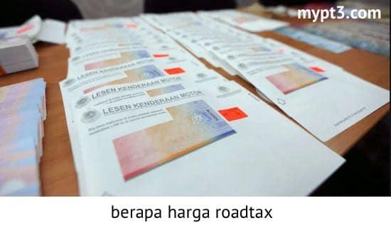 harga roadtax motor 2020