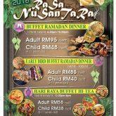 thistle buffet ramadhan