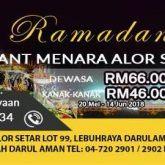 th hotel alor setar buffet ramadhan