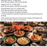 buffet ramadhan kl 2019