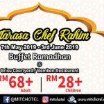 buffet ramadhan ramada hotel