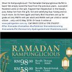 buffet ramadhan 2019 putrajaya