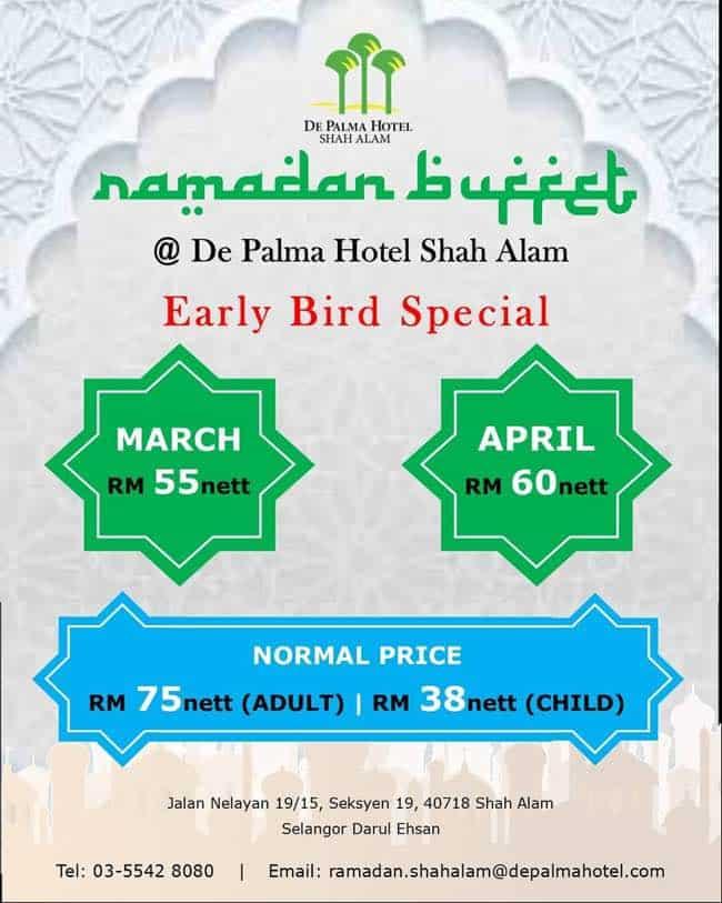 buffet ramadhan hotel uitm shah alam