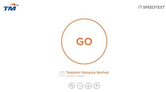 TM Unifi Speed Test online