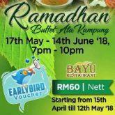 the qamar paka ramadhan buffet
